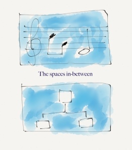 spaces in between